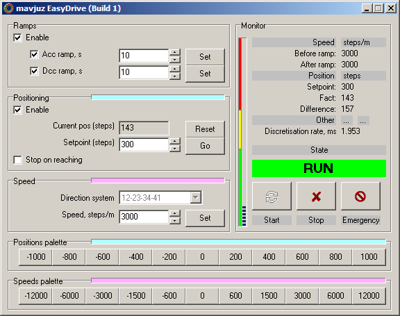 EasyDrive Stepdrive direction tool screenshot
